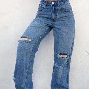 Tiger Mist Sofi Straight Jean XS